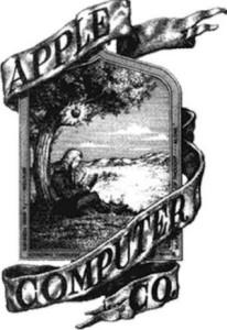 Prima versione del logo Apple
