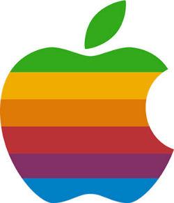 Seconda versione del logo Apple