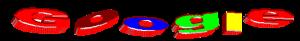 Prima versione del logo di Google